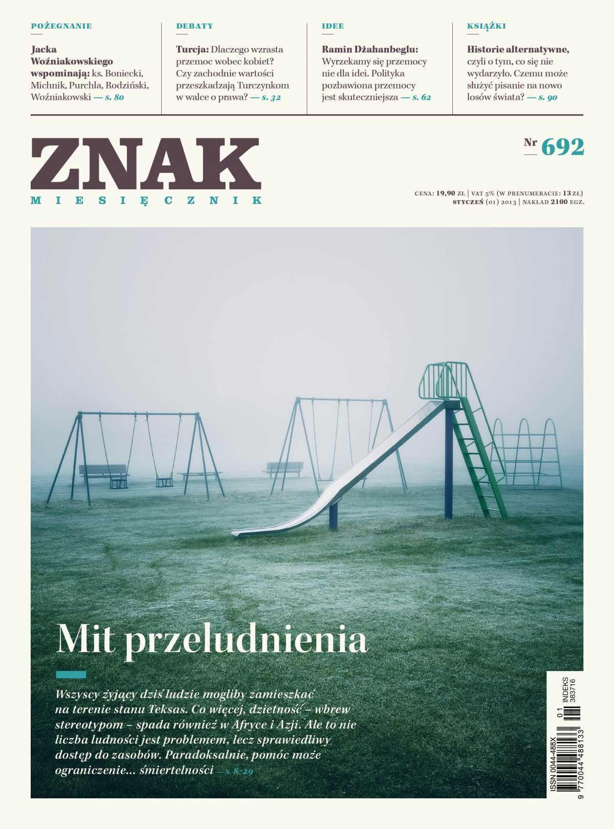 Miesięcznik Znak. Styczeń 2013 - Ebook (Książka PDF) do pobrania w formacie PDF