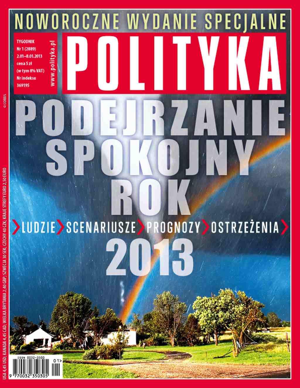 Polityka nr 1/2013 - Ebook (Książka PDF) do pobrania w formacie PDF