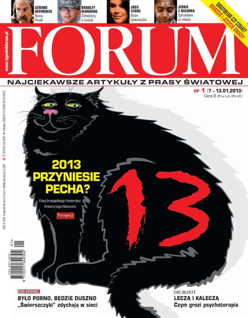 Forum nr 1/2013 - Ebook (Książka PDF) do pobrania w formacie PDF