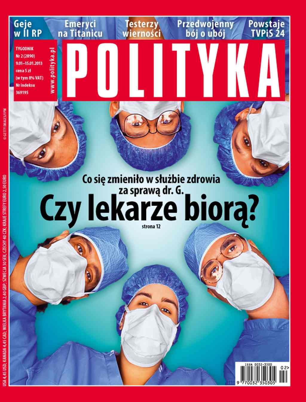 Polityka nr 2/2013 - Ebook (Książka PDF) do pobrania w formacie PDF