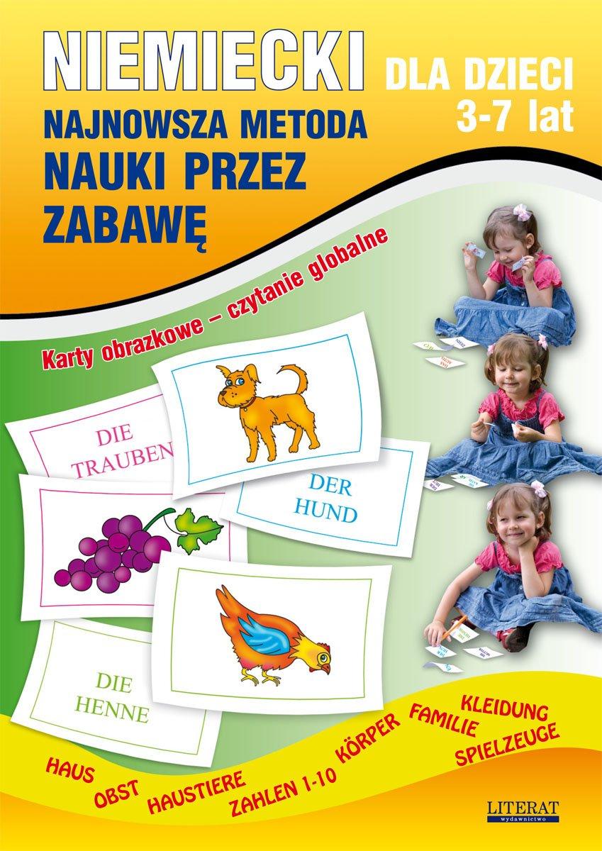 Niemiecki dla dzieci 3-7 lat. Najnowsza metoda nauki przez zabawę - Ebook (Książka PDF) do pobrania w formacie PDF