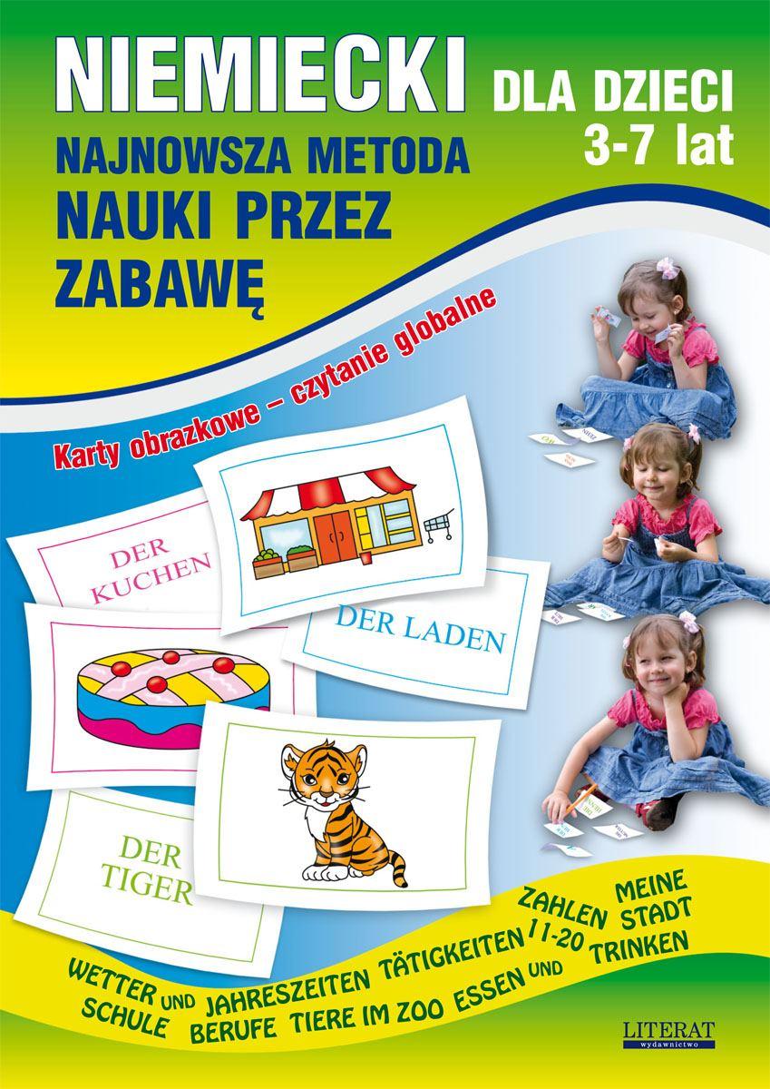 Niemiecki dla dzieci 3-7 lat - Ebook (Książka PDF) do pobrania w formacie PDF