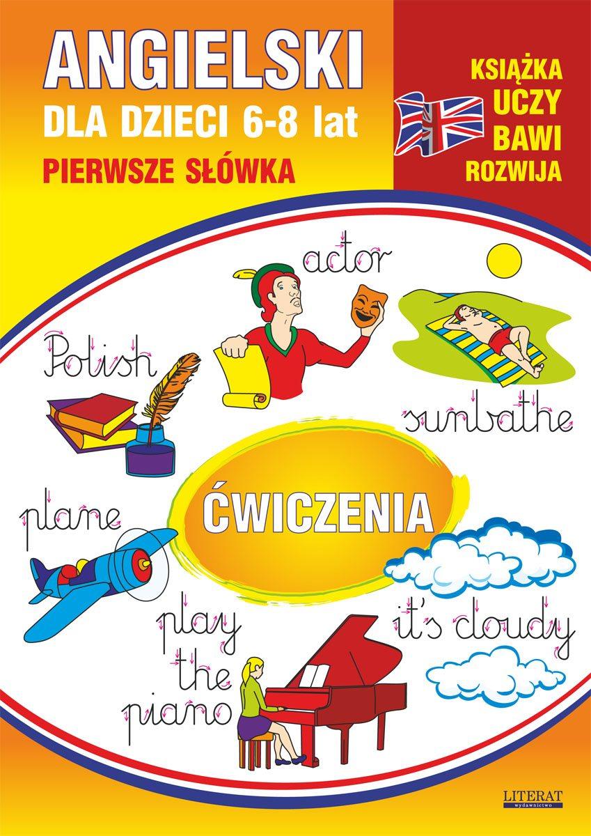 Angielski dla dzieci 12. Pierwsze słówka. Ćwiczenia. 6-8 lat - Ebook (Książka PDF) do pobrania w formacie PDF