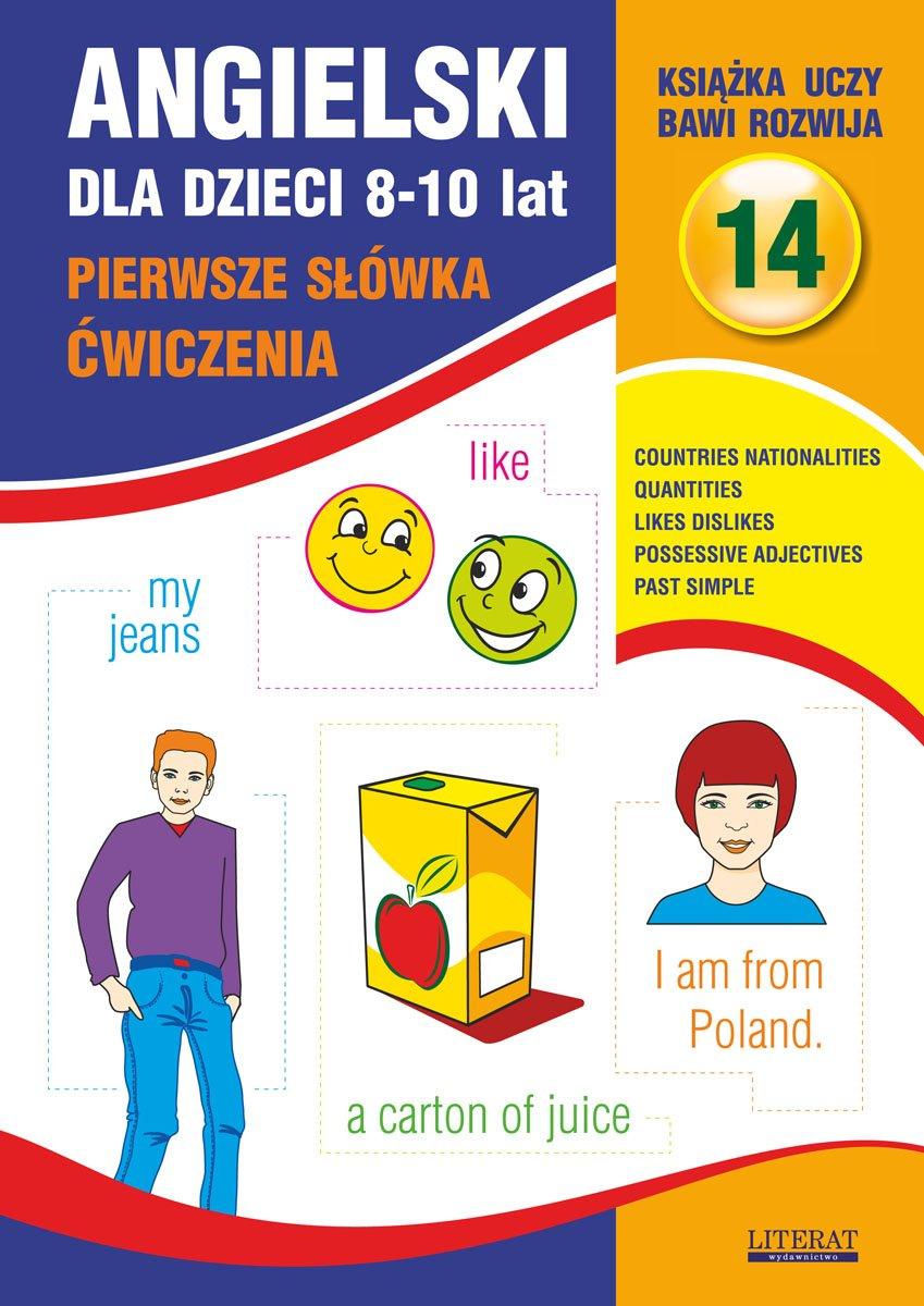 Angielski dla dzieci 14. Pierwsze słówka. Ćwiczenia. 8-10 lat - Ebook (Książka PDF) do pobrania w formacie PDF