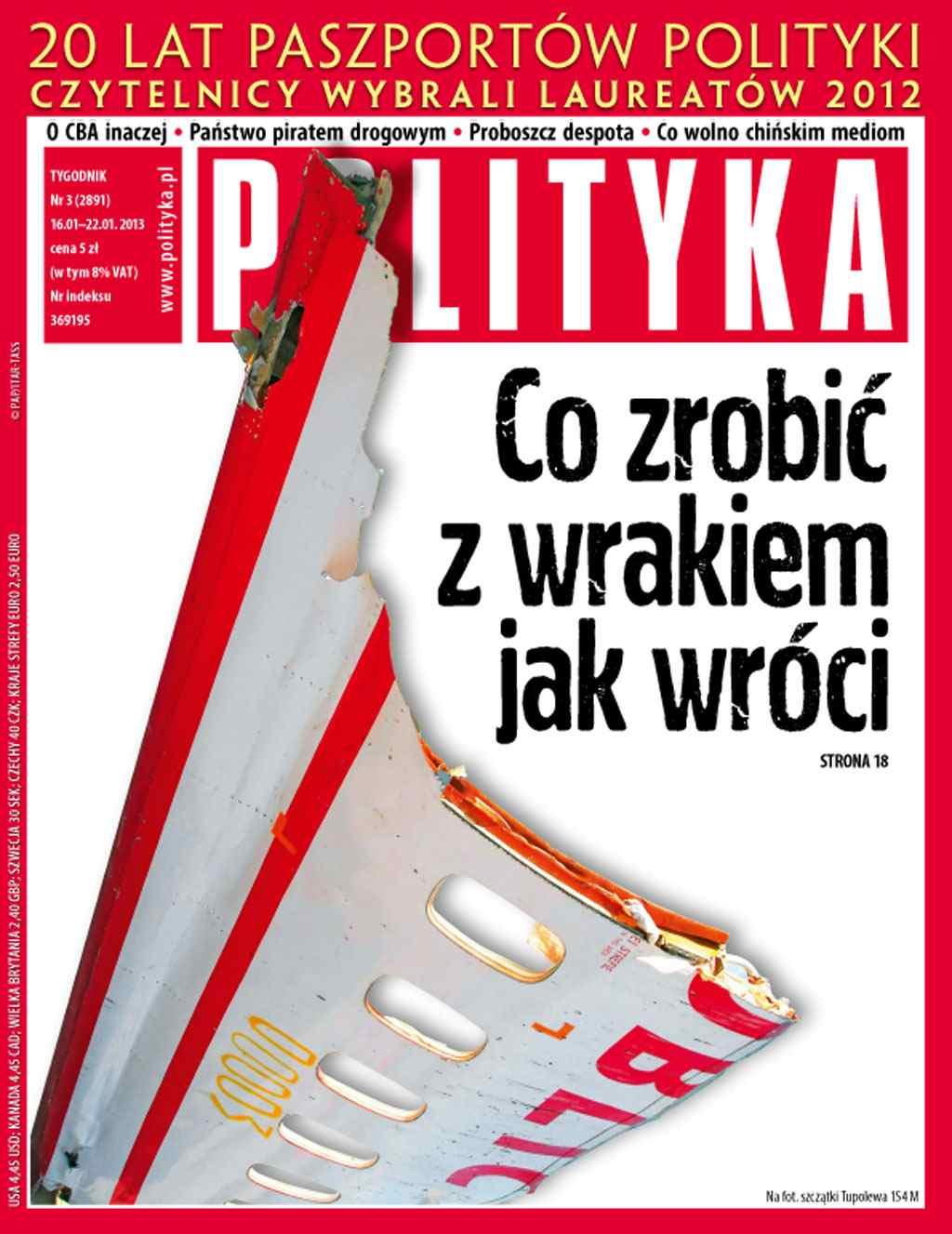 Polityka nr 3/2013 - Ebook (Książka PDF) do pobrania w formacie PDF