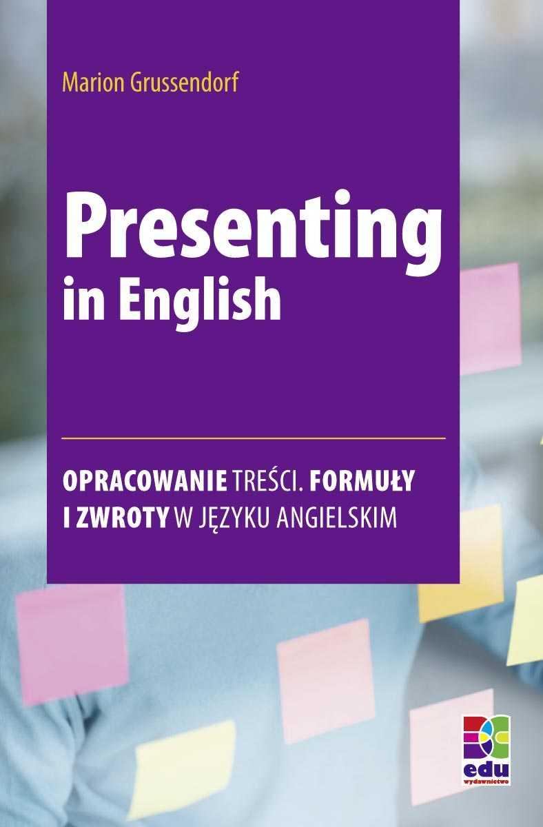 Presenting in English - Ebook (Książka PDF) do pobrania w formacie PDF