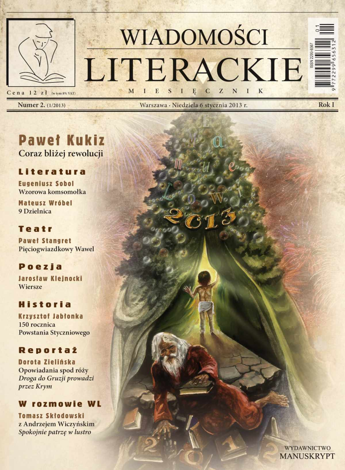 Wiadomości Literackie 2 (1/2013) - Ebook (Książka PDF) do pobrania w formacie PDF