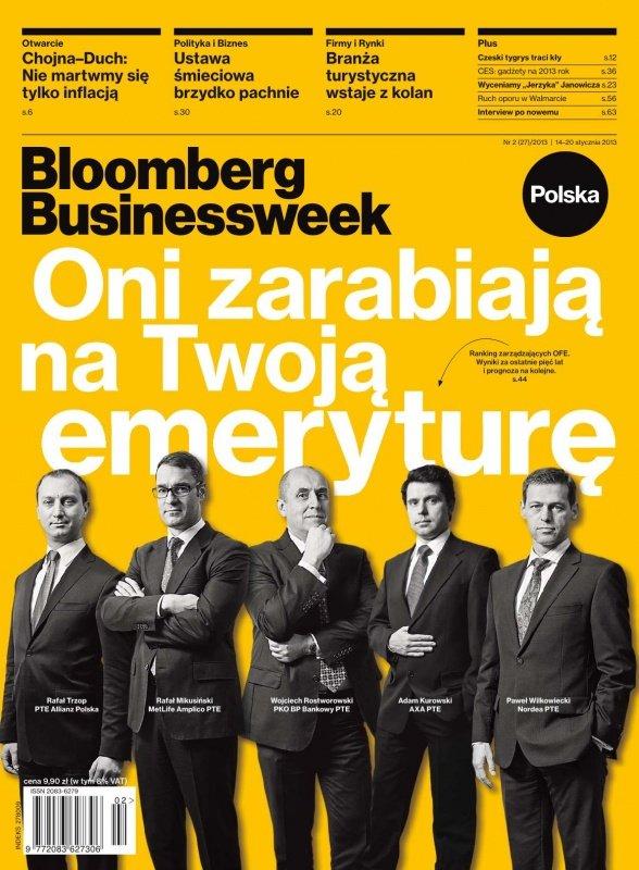 """""""Bloomberg Businessweek"""" wydanie nr 213 - Ebook (Książka PDF) do pobrania w formacie PDF"""