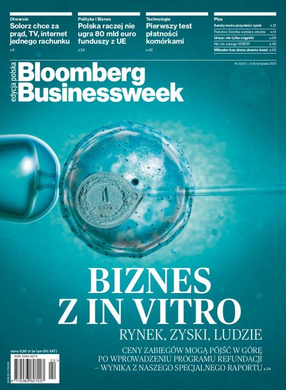 """""""Bloomberg Businessweek"""" wydanie nr 2212 - Ebook (Książka PDF) do pobrania w formacie PDF"""