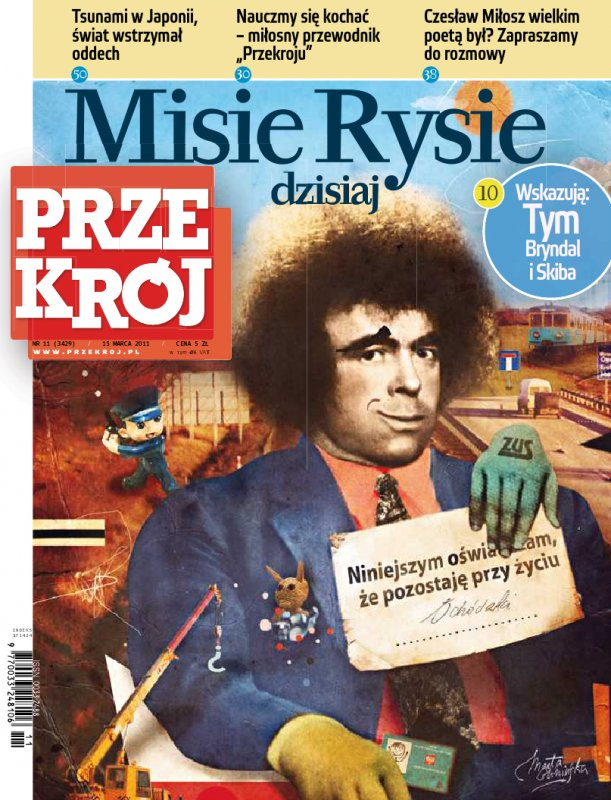 """""""Przekrój"""" nr 112011 - Ebook (Książka PDF) do pobrania w formacie PDF"""