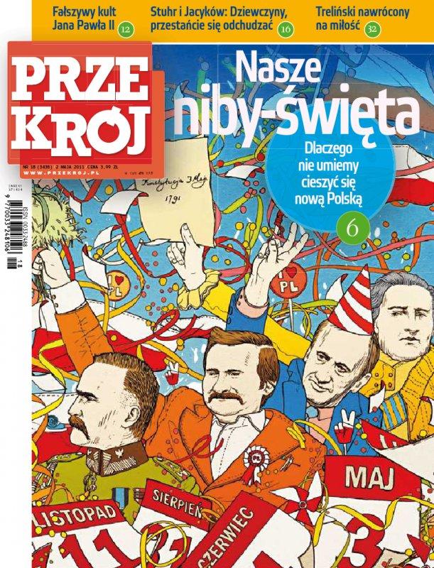 """""""Przekrój"""" nr 182011 - Ebook (Książka PDF) do pobrania w formacie PDF"""