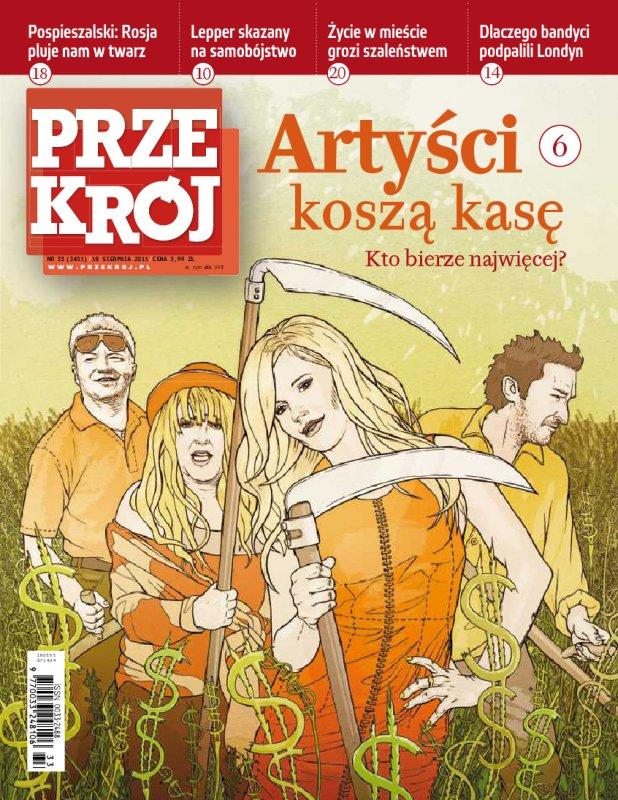 """""""Przekrój"""" nr 332011 - Ebook (Książka PDF) do pobrania w formacie PDF"""