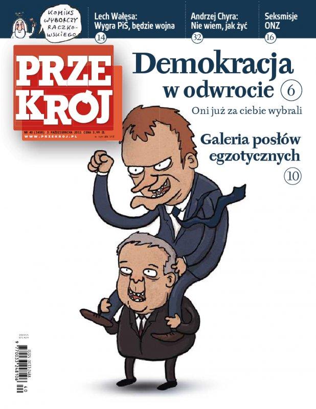 """""""Przekrój"""" nr 402011 - Ebook (Książka PDF) do pobrania w formacie PDF"""
