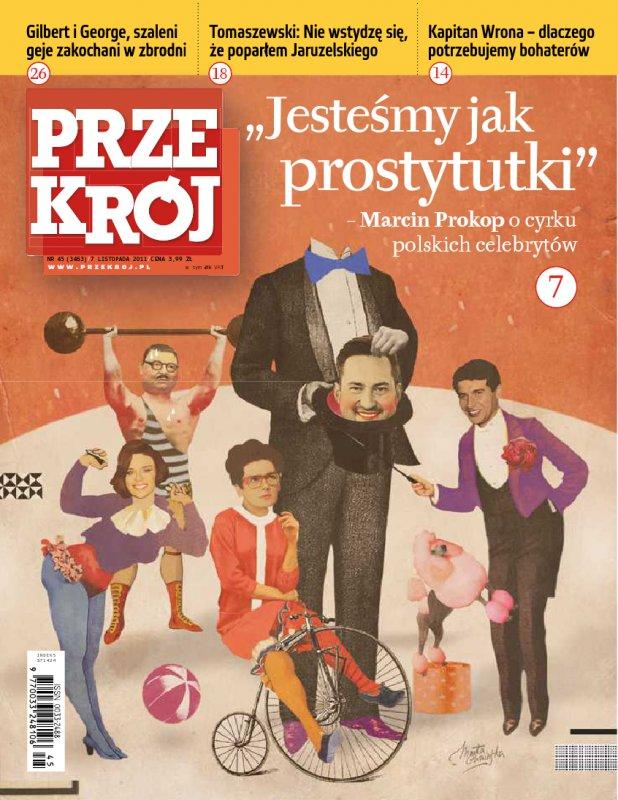 """""""Przekrój"""" nr 452011 - Ebook (Książka PDF) do pobrania w formacie PDF"""