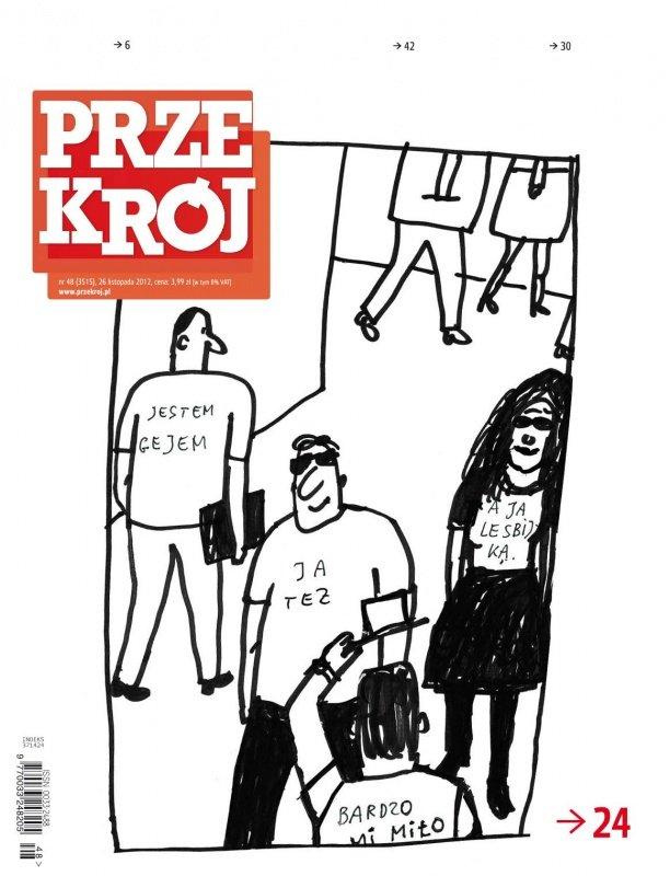 """""""Przekrój"""" nr 482012 - Ebook (Książka PDF) do pobrania w formacie PDF"""