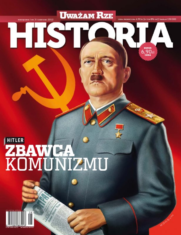 """""""Uważam Rze Historia"""" nr 32012 - Ebook (Książka PDF) do pobrania w formacie PDF"""