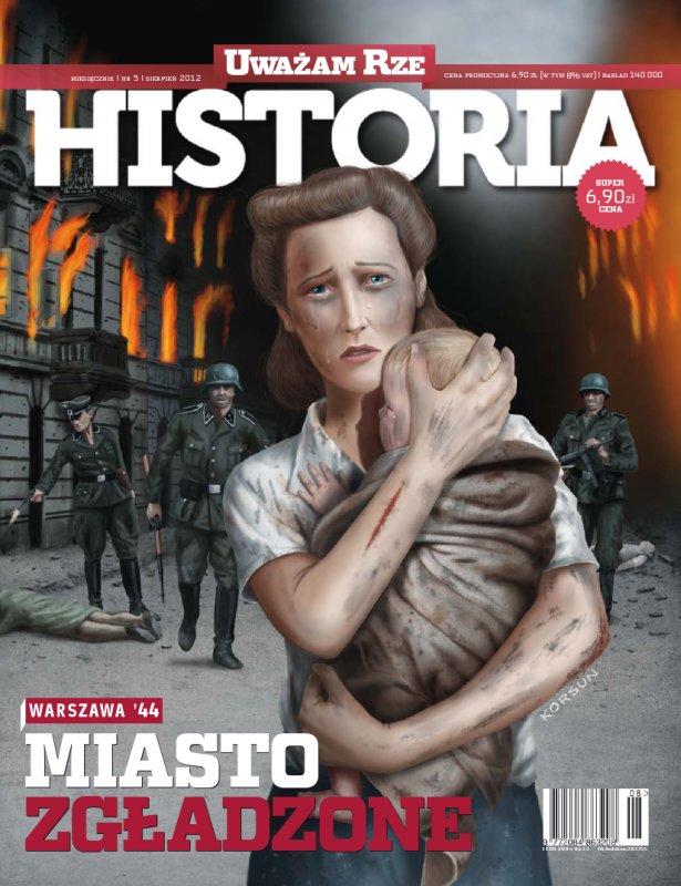 """""""Uważam Rze Historia"""" nr 52012 - Ebook (Książka PDF) do pobrania w formacie PDF"""