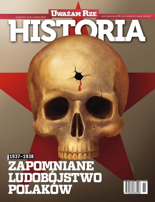 """""""Uważam Rze Historia"""" nr 82012 - Ebook (Książka PDF) do pobrania w formacie PDF"""