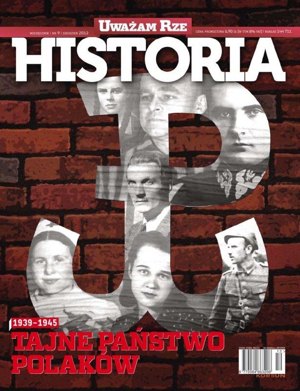 """""""Uważam Rze Historia"""" nr 92012 - Ebook (Książka PDF) do pobrania w formacie PDF"""