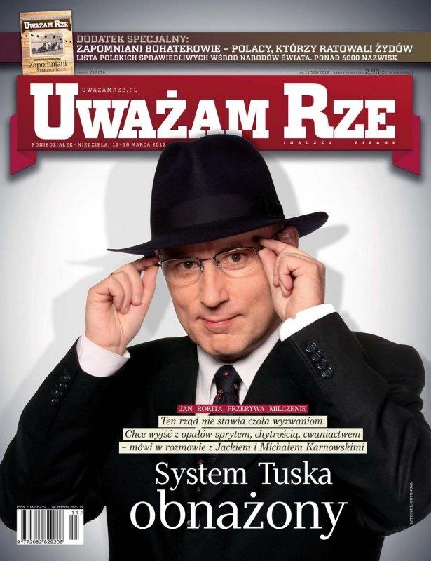 """""""Uważam Rze. Inaczej pisane"""" nr 112012 - Ebook (Książka PDF) do pobrania w formacie PDF"""
