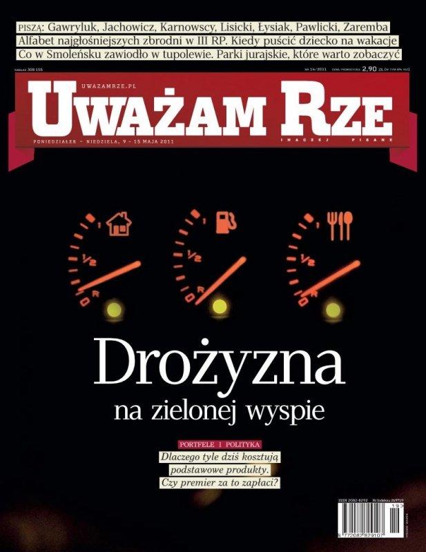 """""""Uważam Rze. Inaczej pisane"""" nr 14 - Ebook (Książka PDF) do pobrania w formacie PDF"""