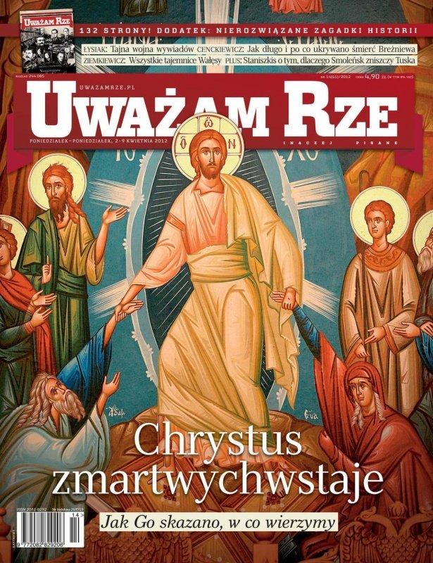 """""""Uważam Rze. Inaczej pisane"""" nr 142012 - Ebook (Książka PDF) do pobrania w formacie PDF"""