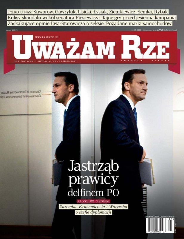 """""""Uważam Rze. Inaczej pisane"""" nr 15 - Ebook (Książka PDF) do pobrania w formacie PDF"""