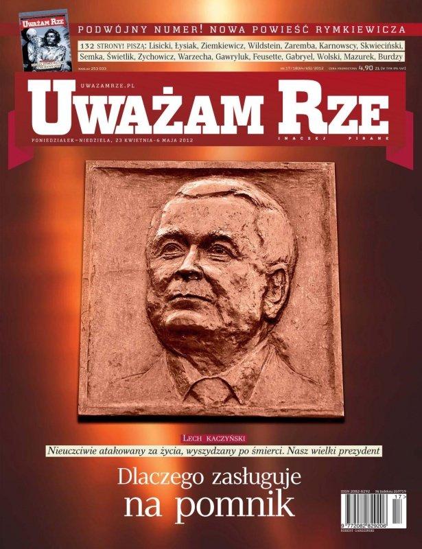 """""""Uważam Rze. Inaczej pisane"""" nr 17182012 - Ebook (Książka PDF) do pobrania w formacie PDF"""