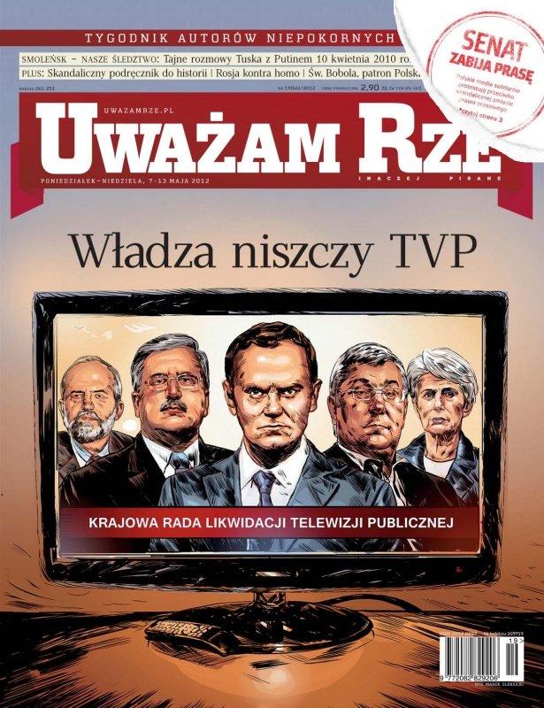 """""""Uważam Rze. Inaczej pisane"""" nr 192012 - Ebook (Książka PDF) do pobrania w formacie PDF"""