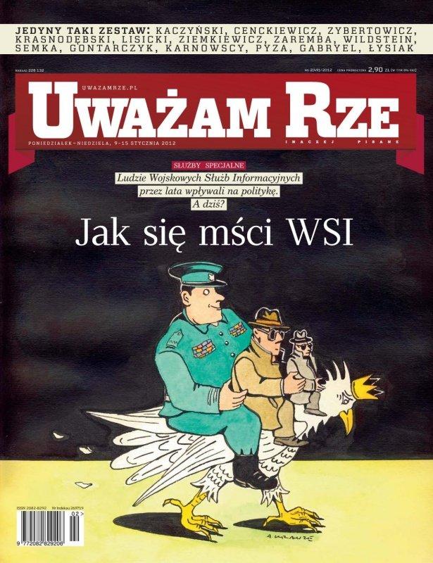"""""""Uważam Rze. Inaczej pisane"""" nr 22012 - Ebook (Książka PDF) do pobrania w formacie PDF"""