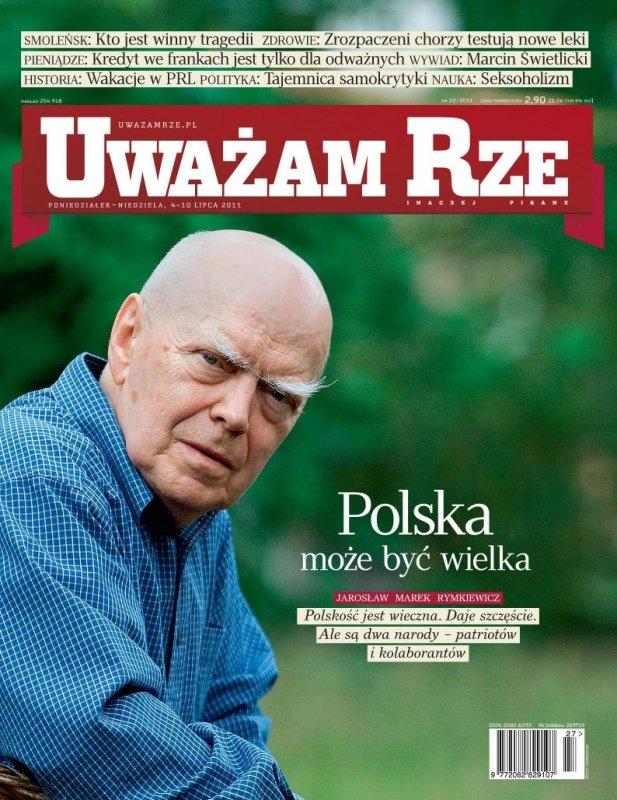 """""""Uważam Rze. Inaczej pisane"""" nr 22 - Ebook (Książka PDF) do pobrania w formacie PDF"""