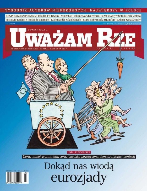"""""""Uważam Rze. Inaczej pisane"""" nr 222012 - Ebook (Książka PDF) do pobrania w formacie PDF"""