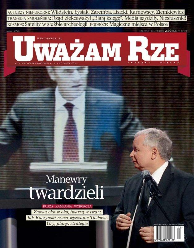 """""""Uważam Rze. Inaczej pisane"""" nr 23 - Ebook (Książka PDF) do pobrania w formacie PDF"""