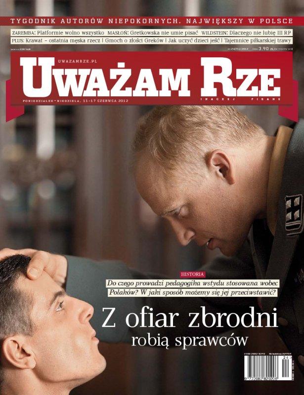 """""""Uważam Rze. Inaczej pisane"""" nr 242012 - Ebook (Książka PDF) do pobrania w formacie PDF"""
