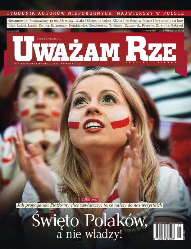 """""""Uważam Rze. Inaczej pisane"""" nr 252012 - Ebook (Książka PDF) do pobrania w formacie PDF"""