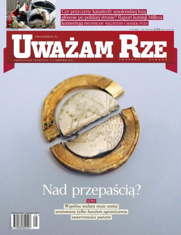 """""""Uważam Rze. Inaczej pisane"""" nr 26 - Ebook (Książka PDF) do pobrania w formacie PDF"""