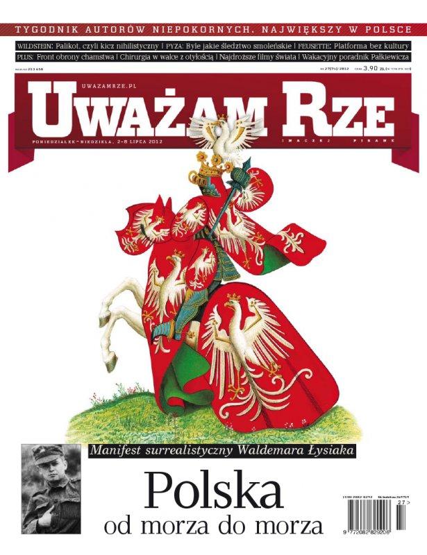 """""""Uważam Rze. Inaczej pisane"""" nr 272012 - Ebook (Książka PDF) do pobrania w formacie PDF"""