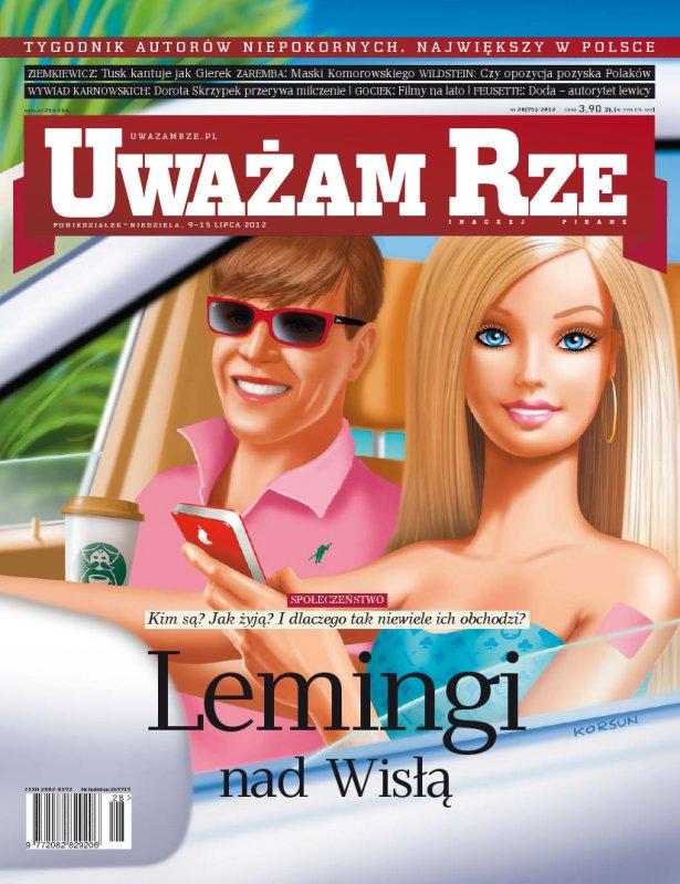 """""""Uważam Rze. Inaczej pisane"""" nr 282012 - Ebook (Książka PDF) do pobrania w formacie PDF"""
