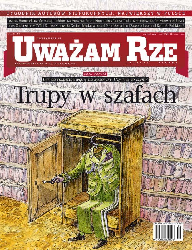 """""""Uważam Rze. Inaczej pisane"""" nr 292012 - Ebook (Książka PDF) do pobrania w formacie PDF"""