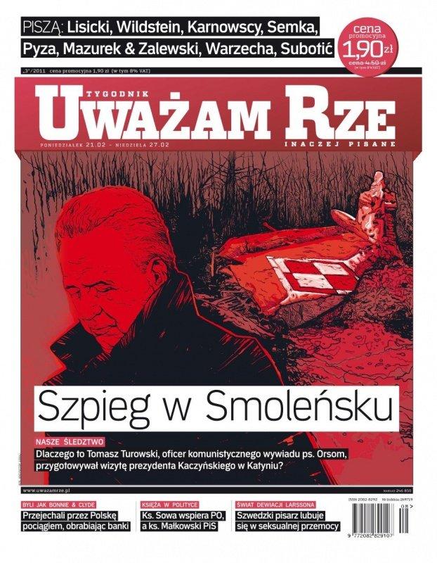 """""""Uważam Rze. Inaczej pisane"""" nr 3 - Ebook (Książka PDF) do pobrania w formacie PDF"""