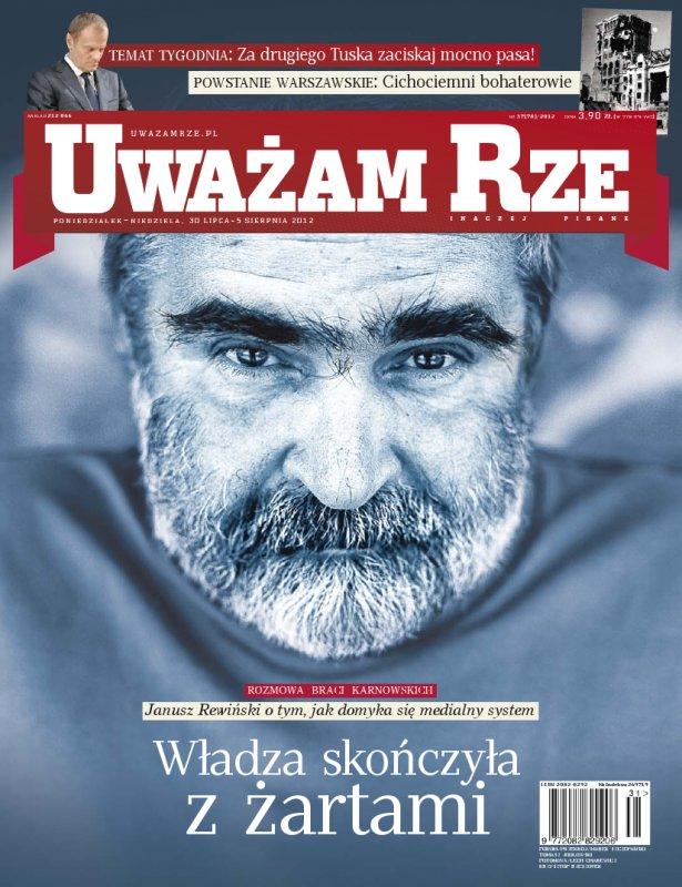 """""""Uważam Rze. Inaczej pisane"""" nr 312012 - Ebook (Książka PDF) do pobrania w formacie PDF"""
