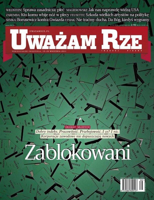 """""""Uważam Rze. Inaczej pisane"""" nr 33 - Ebook (Książka PDF) do pobrania w formacie PDF"""