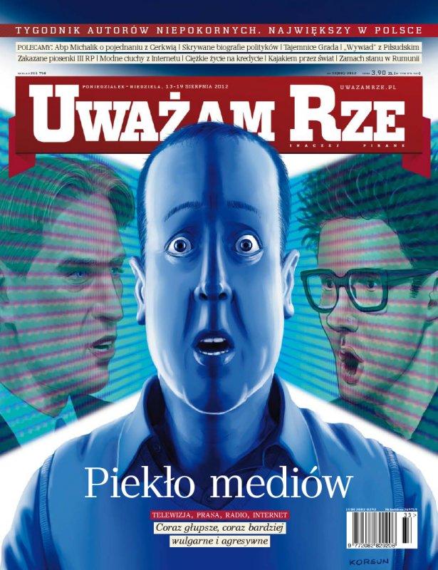 """""""Uważam Rze. Inaczej pisane"""" nr 332012 - Ebook (Książka PDF) do pobrania w formacie PDF"""