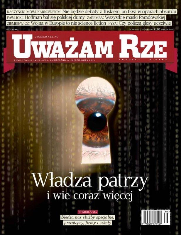 """""""Uważam Rze. Inaczej pisane"""" nr 34 - Ebook (Książka PDF) do pobrania w formacie PDF"""
