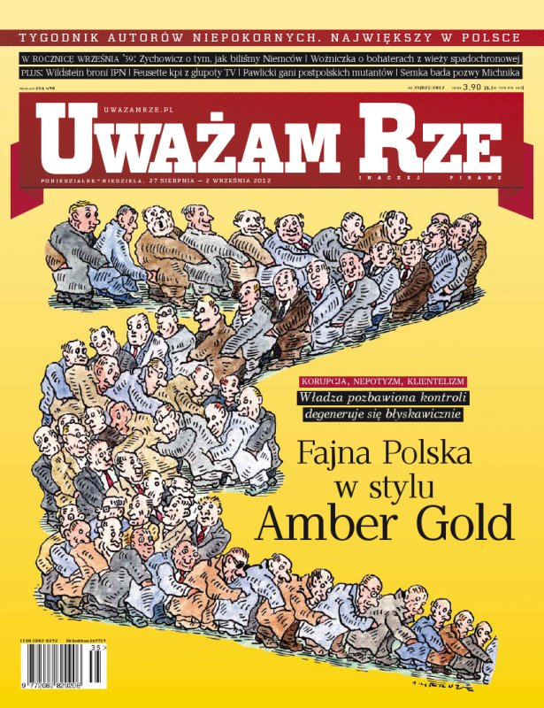 """""""Uważam Rze. Inaczej pisane"""" nr 352012 - Ebook (Książka PDF) do pobrania w formacie PDF"""