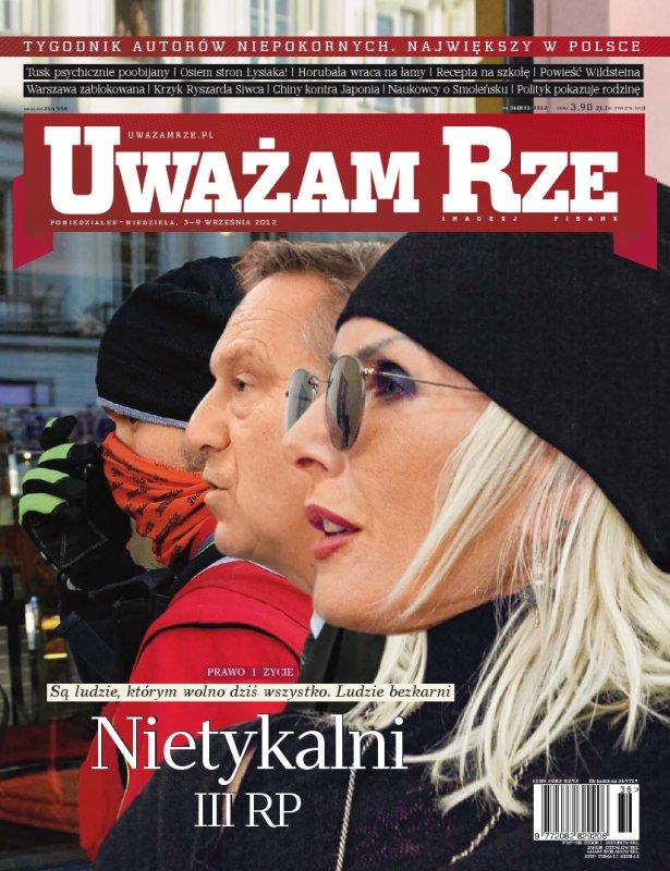 """""""Uważam Rze. Inaczej pisane"""" nr 362012 - Ebook (Książka PDF) do pobrania w formacie PDF"""