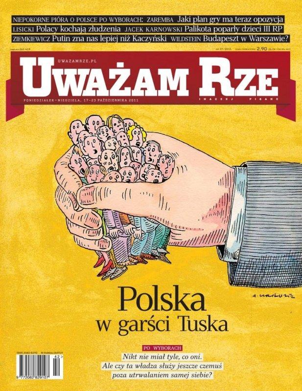 """""""Uważam Rze. Inaczej pisane"""" nr 37 - Ebook (Książka PDF) do pobrania w formacie PDF"""