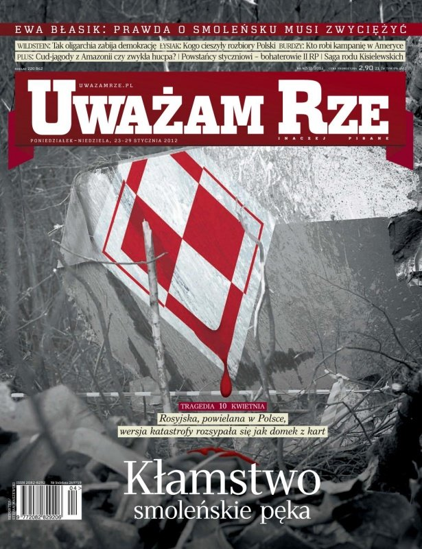 """""""Uważam Rze. Inaczej pisane"""" nr 42012 - Ebook (Książka PDF) do pobrania w formacie PDF"""