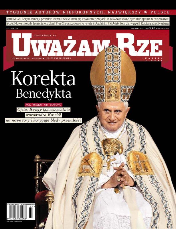 """""""Uważam Rze. Inaczej pisane"""" nr 432012 - Ebook (Książka PDF) do pobrania w formacie PDF"""