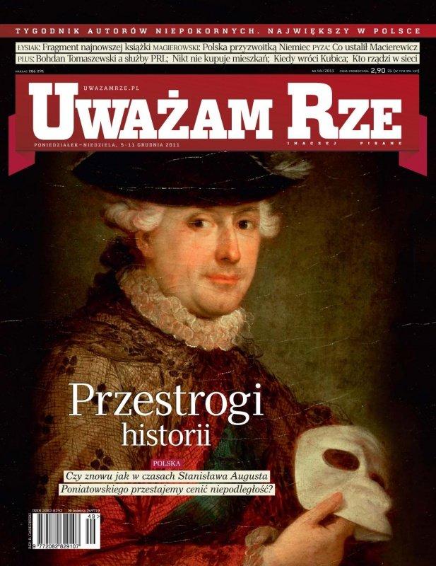 """""""Uważam Rze. Inaczej pisane"""" nr 44 - Ebook (Książka PDF) do pobrania w formacie PDF"""
